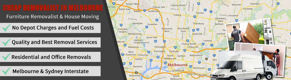 Cheap house and furniture removals in Melbourne