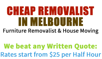 Cheap removalist in Melbourne